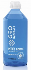 GEONATURALS, PURE SILICA FORTE - Krzem Forte 200 mg x 500 ml - ALINESS